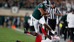 WATCH: Connor Heyward breaks multiple tackles for 38-yard gain against Nebraska