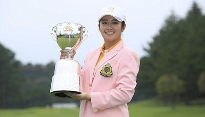 高爾夫》稻見萌寧愈贏愈多,有機會橫掃日巡賽個人獎