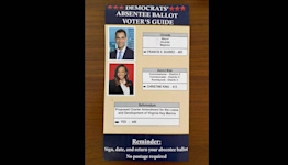 'It's misleading': Dems slam mailer sent by County commissioner's aunt's PAC
