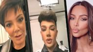 Watch James Charles Prank Kim Kardashian, Kris Jenner, JoJo Siwa and More Stars!