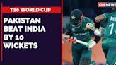Pakistan Beat India By 10 Wickets   India Pakistan Match Live   T20 World   CNN News18 Breaking News