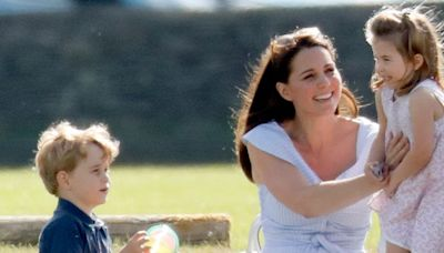 Kate Middleton spotted out shopping with Prince George and Princess Charlotte after funeral