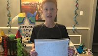 Geography Fan Celebrates His 12th Birthday By Filling A World Map With Help From Twitter
