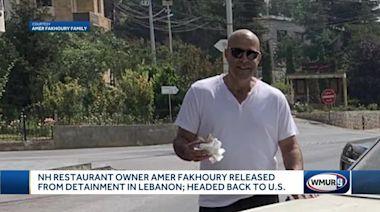 NH restaurant owner released from detainment in Lebanon
