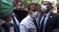 French President Macron Visits Ravaged Beirut Following Explosion