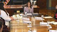 Vice President Kamala Harris meets with DACA recipients