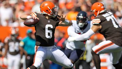 Baker Mayfield: Shoulder kind of popped in and out, nothing too serious