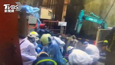 捷運萬大線工程出意外!63歲工人遭機器夾傷頭 命危送醫