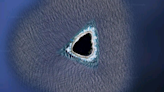 """Google Maps: el """"agujero negro"""" en el océano Pacífico detectado con la herramienta del gigante tecnológico"""