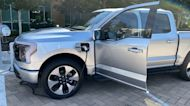 Ford introduces full-electric F-150 for 1st time in CA