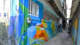 新店區張北里後巷藝術彩繪 重塑社區環境景觀 | 台灣好新聞 TaiwanHot.net