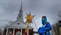 'We turned no one away': With protocols in mind, a Catholic church cautiously welcomes parishioners for Christmas celebration - The Boston Globe