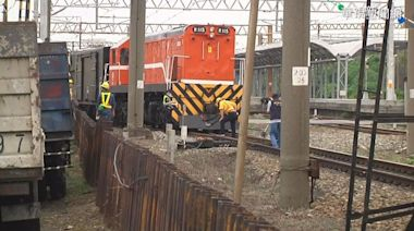 貨車壓壞轉轍器雙向延誤 台鐵:未出軌