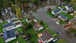 Nor'easter slams East Coast with flooding rain and powerful winds