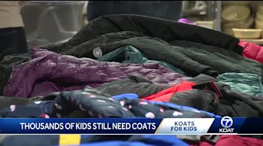Thousands of coats still needed for New Mexico kids