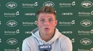 Zach Wilson on Josh Allen comparison, relationship with Elijah Moore | Jets News Conference