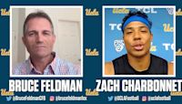 From Chip Kelly's offense to anime shows, Bruce Feldman & UCLA's Zach Charbonnet hit all the hot topics