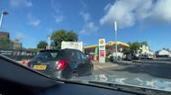 Fuel fears spark panic buying at UK gas stations