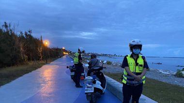 疫情降級車輛屢闖自行車道 花蓮警方已取締9件
