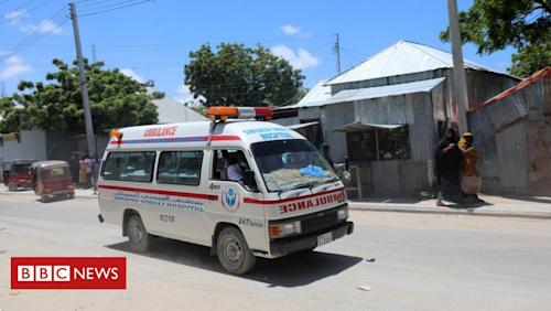 Several killed in attack at Somali military base