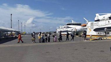 疫情緊張 布袋澎湖海上航線退票率逾6成