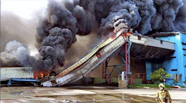 中火運煤輸送帶大火 中市勞檢處調查未設接地與除電裝置開罰30萬
