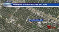 Balacera en calle Panama deja uno herido 0106