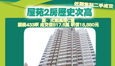 回歸前83萬買元朗寶發大廈 今日438萬沽貨賺355萬 - 香港經濟日報 - 地產站 - 二手住宅 - 私樓成交