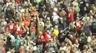 'MVP! MVP!': Patrick Mahomes Waves to Cheering Fans at Post Malone Concert