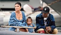 Kylie Jenner & Travis Scott Looked Like A 'Happy Family' As They Played With Stormi On Day Out Together