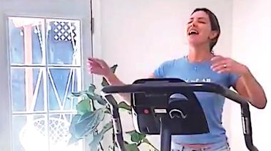 Katharine McPhee Sings Secret Song by New Husband David Foster While Rehearsing on Elliptical