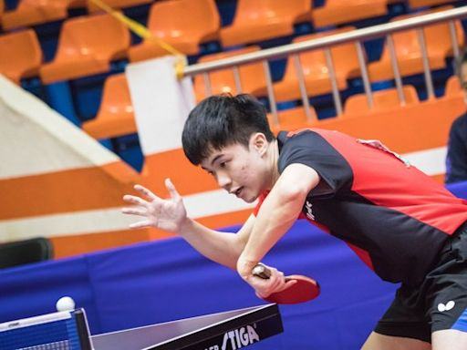 全運會男單決賽林昀儒「不戰而勝」奪金 摘下第3金