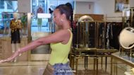 Draya Michele takes home a $6K Chanel yellow mini handbag to add to her fashion collection