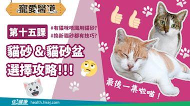 信健康-- 【寵愛醫道】第十五課:貓砂&貓砂盆 選擇攻略!