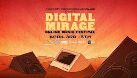 Digital Mirage: Online Music Festival (Sunday)