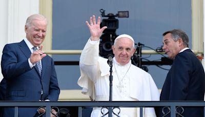拜登歐洲行參加G20 先晤教宗方濟各.兩人私交篤