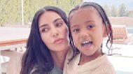 """Kim Kardashian & Saint West Enter the """"Matrix"""" in Photos"""