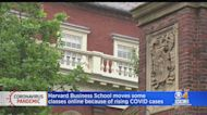 Harvard Moves First-Year MBA Classes Online Temporarily Due To 'Steady Rise In Breakthrough Infections'