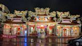 大溪老城區推夜間觀光 福仁宮添柔和莊嚴「亮」點