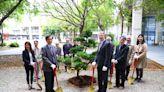十年樹木百年樹人 東海大學與傅爾布萊特基金會攜手植樹