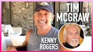 Kenny Rogers Hid In A Laundry Hamper For Tim McGraw