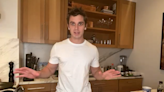 Antoni Porowski dishes out seared salmon and life lessons in Tuesday's online culinary demonstration