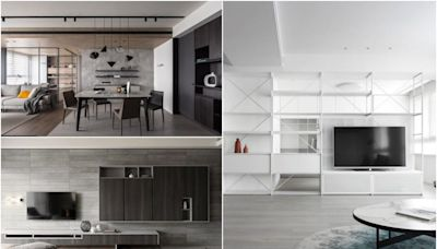 機能收納宅裡看見好品味!活用層架創意、系統板材,客製專屬生活美學