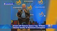 William Shatner Speaks At Rosemont Convention After Blue Origin Ride