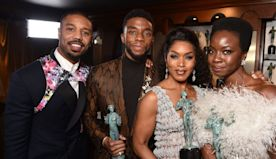 "Chadwick Boseman's 'Black Panther' Costars Honor His ""Beautiful Spirit"""