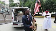 Rayshard Brooks, afroamericano asesinado por un policía, es despedido en la iglesia de Luther King