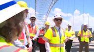 Transportation Secretary Pete Buttigieg tours Memphis bridge crack, pushing infrastructure plan