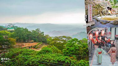 台南關仔嶺一日遊~火山碧雲寺、水火同源、溫泉老街、泥漿溫泉玩透透