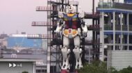 It's Alive! 25-Ton Gundam Robot Moves for First Time in Yokohama