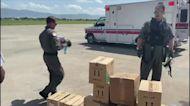 US Coast Guard Transports Critically Injured Child for Care After Haiti Earthquake